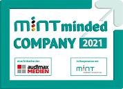 PULS als MINT minded company 2021 ausgezeichnet.