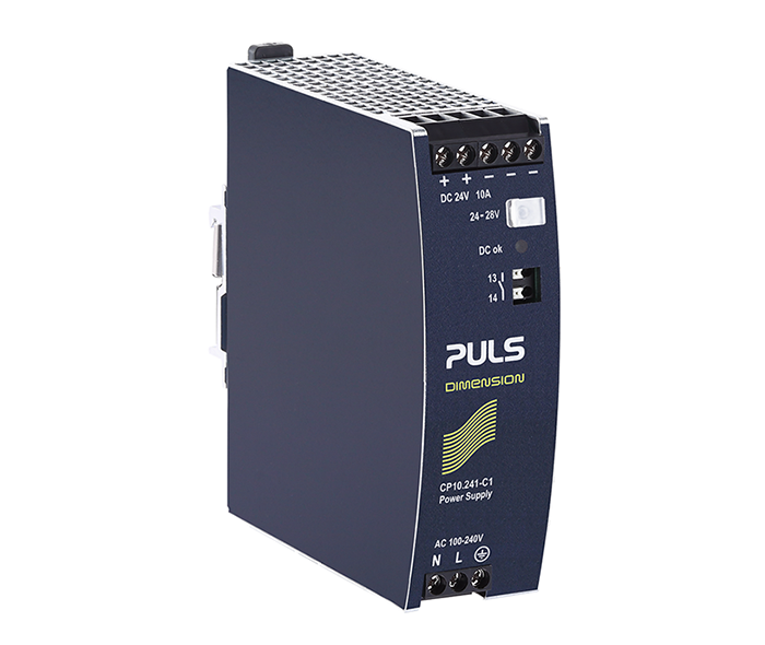 DIN rail power supply CP10.241-C1 with conformal-coated PCBs