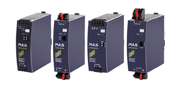 Power supplies with integrated decoupling function