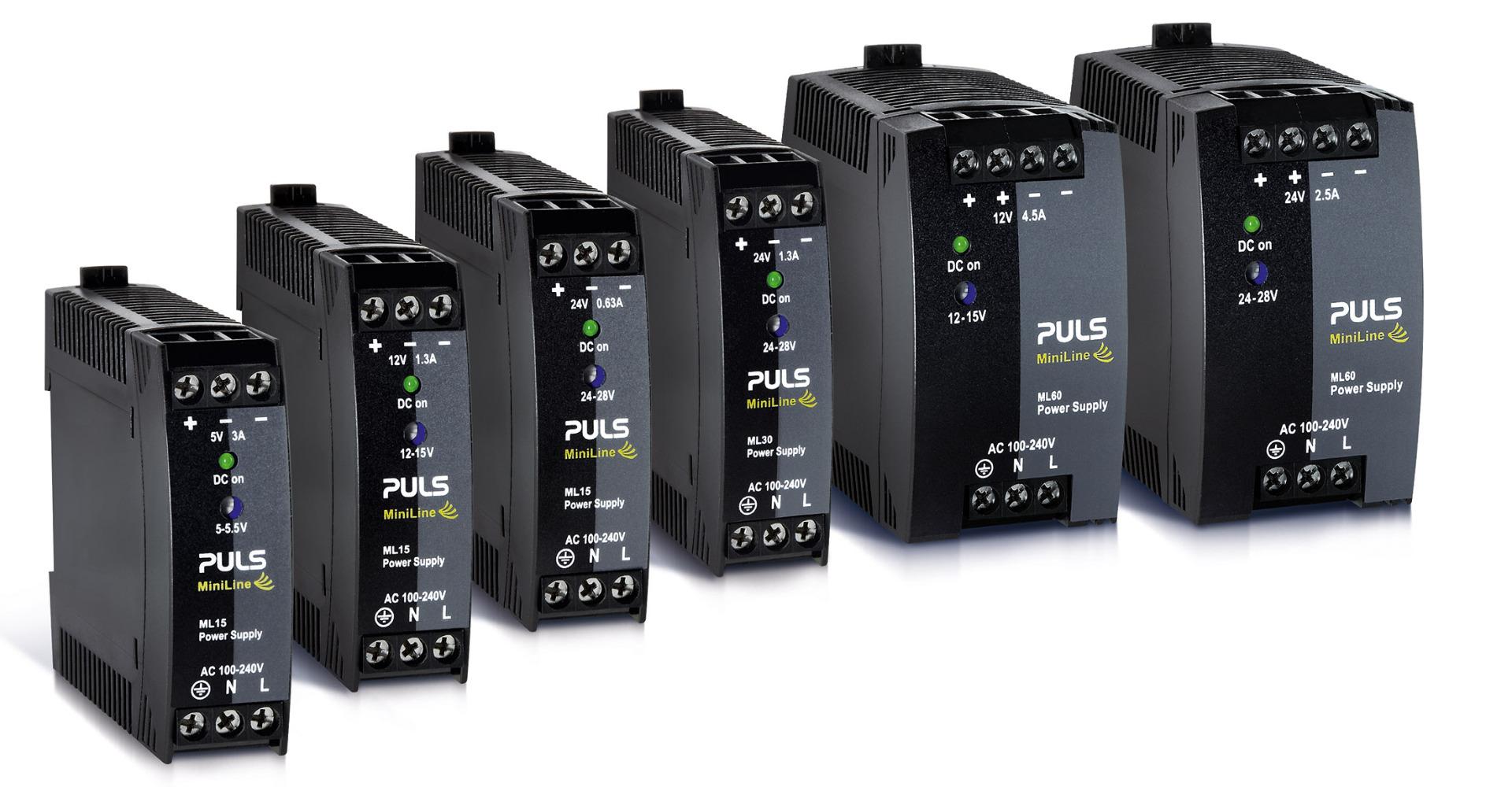 MiniLine DIN rail power supply product family