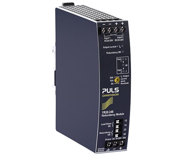 Redundanzmodul mit MOSFET-Technologie   YR20.246