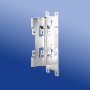 Wall, panel and side mounting accessories for DIN rail power supplies.